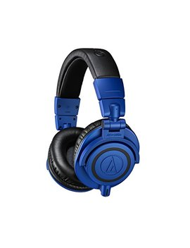 Audio Technica Ath M50x Bb Limited Edition Professional Studio Monitor Headphones, Blue by Audio Technica