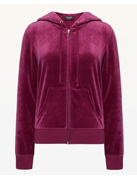 Luxe Jc Velour Robertson Jacket by Juicy Couture