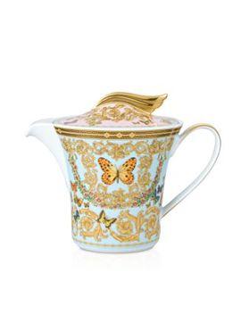 Versace Butterfly Garden Teapot by Rosenthal Meets Versace