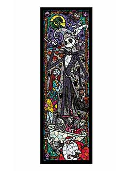 Tenyo Nightmare Before Christmas Stained Glass Gyutto Size Series Jigsaw Puzzle (456 Piece) by Tenyo