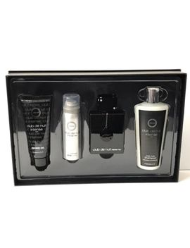 Club De Nuit Intense Man By Armaf 4 Pcs Gift Set For Men by Armaf