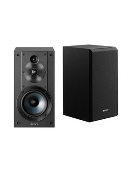 Sony Sscs5 3 Way 3 Driver Bookshelf Speaker System (Black) by Sony