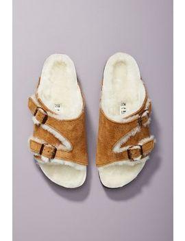 Birkenstock Zurich Shearling Sandals by Birkenstock