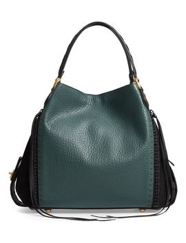Edie 42 Colorblock Leather Shoulder Bag by Coach