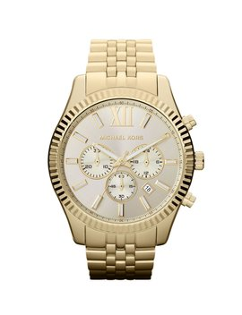 Lexington Stainless Steel Chronograph Bracelet Watch by Michael Kors