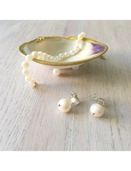 "Medium (3""+) Clam Shell Jewelry Dish by Etsy"