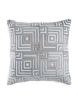 Callisto Home Square Throw Pillow In Slate Blue by Bed Bath And Beyond