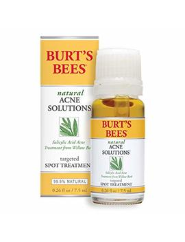 Burt's Bees Natural Acne Solutions Targeted Spot Treatment For Oily Skin, 0.26 Ounces by Burt's Bees