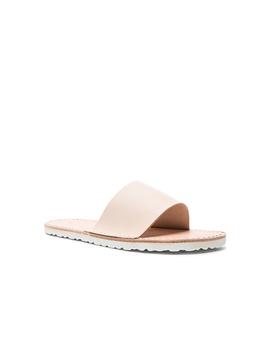 Leather Slide Sandals by Hender Scheme