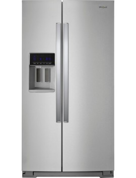 28.4 Cu. Ft. Refrigerator   Stainless Steel by Whirlpool