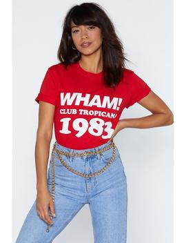 Wham! Tropicana Tee by Nasty Gal