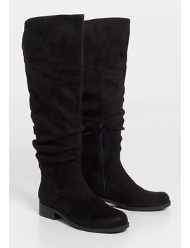 Greta Scrunch Tall Boot by Maurices