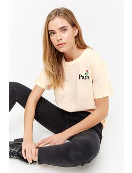 "Playera Bordado ""Paris"" by F21 Contemporary"
