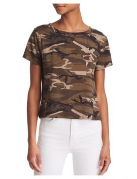 Nice Day Camo Tee by Honey Punch