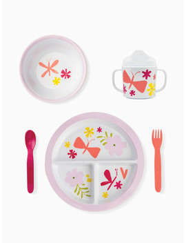 Baby Girl Melamine Dining Set by Kate Spade