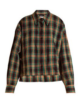 Macao Plaid Cotton Shirt by Isabel Marant