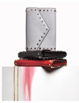 Rockstud Wallet On A Chain by Valentino Garavani