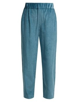 Meloy High Waisted Corduroy Trousers by Isabel Marant