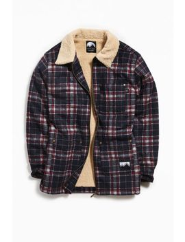 Lazy Oaf Check Hunter Jacket by Lazy Oaf