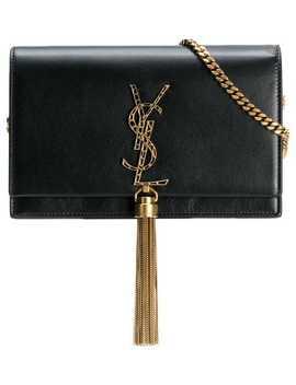 Tassel Plaque Shoulder Bag by Saint Laurent