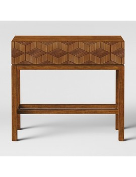 Tachuri Geometric Front Console Table Brown   Opalhouse™ by Target