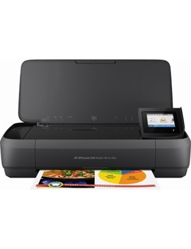 Office Jet 250 Mobile Wireless All In One Printer   Black by Hp