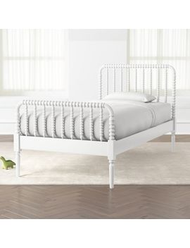 Jenny Lind White Twin Bed by Crate&Barrel