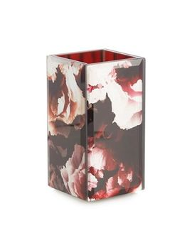 Star By Julien Macdonald   Wine Red Rose Print Toothbrush Holder by Star By Julien Macdonald