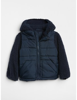 Convertible Sherpa Jacket by Gap