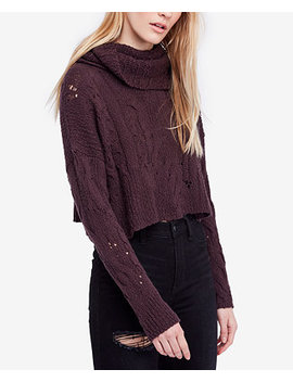 Cropped Open Knit Sweater by Free People