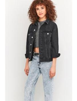 Bdg Black Denim Jacket by Bdg