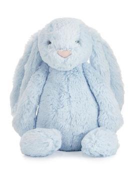 Plush Bashful Bunny Chime Stuffed Animal, Blue by Jellycat
