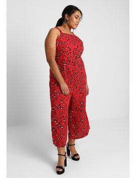 Leopard Print    Jumpsuit by Glamorous Curve
