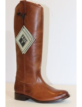 Frye Boots   Melissa Button Classic   Cognac   9.5 M   New In Box   See Details by Frye