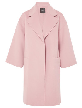 Wool And Cashmere Blend Coat by Theory