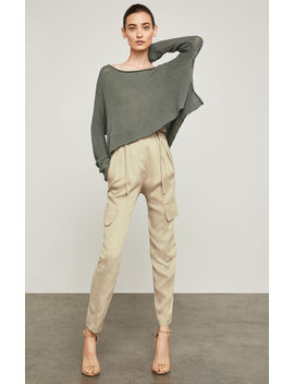 Pleated Paperbag Waist Pant by Bcbgmaxazria