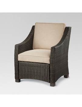 Belvedere Wicker Patio Club Chair   Threshold™ by Shop This Collection