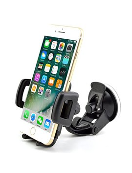 In Car Phone Holder Best Universal In Car One Touch In Car Holder Windscreen Cradle For I Phone 7 / 6s / 6 / 5s / 5c / 4 S / 4 / 3 Gs Samsung Galaxy Note Ii S5 /S4 /S3 / Note Epic Touch 4 G Nokia Lumia 900 Htc One X Evo 4 G Google Nexus Black Berry Torch L..... by Rheme