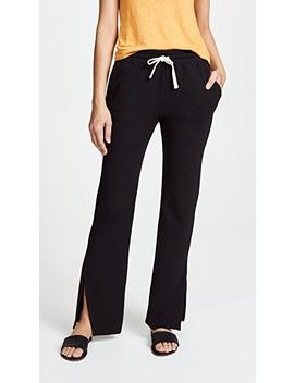 High Rise Slit Sweatpants by Monrow