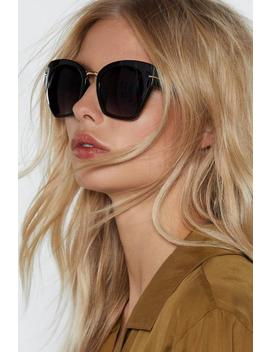 Cat Itude Is Everything Cat Eye Shades by Nasty Gal