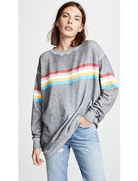 Marvel Stripe Roadtrip Sweatshirt by Wildfox