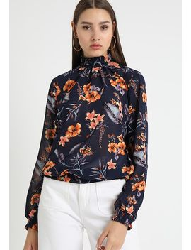 Pcamalie Smock Box   Blouse by Pieces