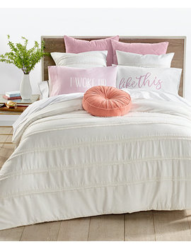 Cascading Fringe Bedding Collection, Created For Macy's by Whim By Martha Stewart Collection