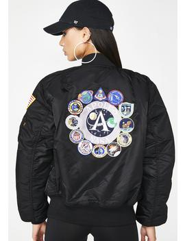 Ma 1 Apollo Bomber Jacket by Alpha Industries