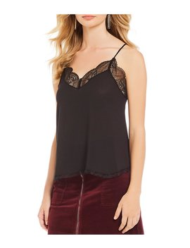 Lace Trim Racerback Cami by 1. State