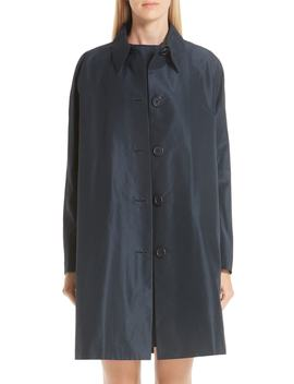 Cotton & Silk Taffeta Coat by Mansur Gavriel