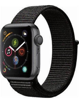 Apple Watch Series 4 (Gps), 40mm Space Gray Aluminum Case With Black Sport Loop   Space Gray Aluminum by Apple