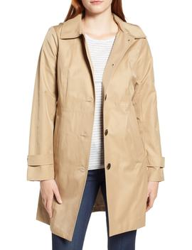 Missy Short Single Breasted Skirted Raincoat by Michael Michael Kors