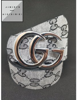Gucci Belt, Gucci Supreme Belt, Double G Buckle, Unisex Belt, Mens Belt, Leather Belt by Etsy