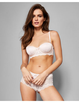 Jacquard Lace Balcony Bra by Ted Baker